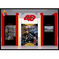 Best Beautiful Cinema Cabin for 4D Cinema System , 4D Theater Equipment wholesale