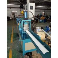 Best 2 Inches Chain Steel Door Frame Roll Forming Machine With Wheel Moving Function wholesale