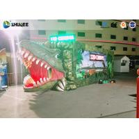 Buy cheap Convenient Outdoor Mini 5D Movie Theater With Dinosaur Design For Entrepreneurs from wholesalers