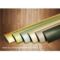 Best Multi Use Curved Surface Aluminium Floor Trims With Brushed Effect For Hotel Project wholesale
