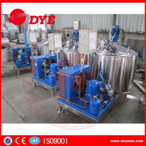 Best DYE Quality Small Farm Cow Milk Cooler Tank 380v / 220v / 425v wholesale