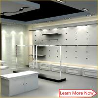Custom high quality shop furniture garment display/clothing store furniture