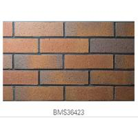 Best Matte Finish Surface Exterior Brick Veneer Panels Clay For Outside Wall wholesale
