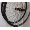 Durable Road Bike Carbon Wheelset 700C Carbon Rims 21.2×30mm