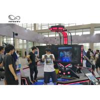 Best 56 Inch Display VR Shooting Simulator / 9D Virtual Reality Game Machine wholesale