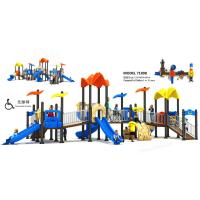 China Special Type Childrens Outdoor Slide Large Accessible Facility For Park on sale