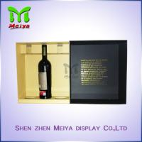 Best Cardbaord Personalized packaging boxes , Red Wine gift boxes Luxury wholesale