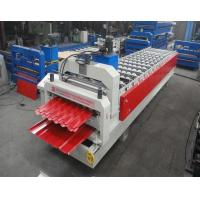 Best Glazed Tile / Trapezoidal Double Sheet Roll Forming Machine Width 1250MM wholesale
