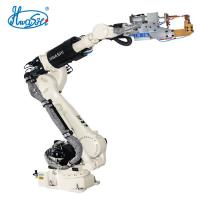 Best TIG/MIG/MAG Industrial Welding Robots Hwashi 6 Axis With Pinch Welder / Seam Tracer wholesale