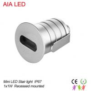 Best 1X3W IP67 waterproof  LED underground light/LED Step light/Outdoor LED underground lamp wholesale