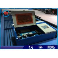 China 40W Co2 Laser Tube Table Top Mini Laser Cutting Machine For Metal High Speed on sale
