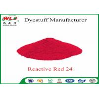 Best ISO9001 Clothes Color Dye Natural Clothing Dye C I Red 24 Reactive Red P-2B wholesale