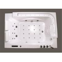 Cheap Modern Retangle 2 Person Mini Indoor Hot Tub For Home Computer Control for sale