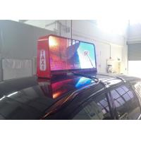 High Definition P5 Waterproof LED Display with 3G Taxi Top Advertising