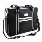 Best Promotional Black Twill Laptop/Computer/Document Bag, Measures 46 x 13 x 35cm wholesale