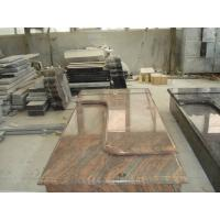 Best Multicolor Red Granite Stone Tombstones For Graves French Style Acid Resistant wholesale