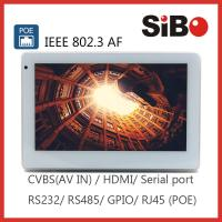 Best 7 Inch Wall Mount Home Automation Control Panel PC With Ethernet RJ45 wholesale