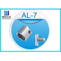 China Hexagon aluminium tubing joints , Outer metal tube connectors AL -7 on sale