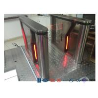 Cheap Pedestrian Intelligent Security Drop Arm Turnstile Access Control with LED Indicator for sale