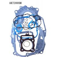 Buy cheap Motorbike Spare Parts Complete Gasket Kit AKT200XM Metal Rubber Composite Plate from wholesalers
