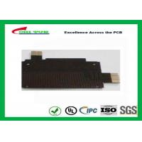 Best Black Solder Mask Flexible PCB Manufacturing for Mobile Phone , 1mil PI Material wholesale