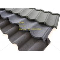 Best Green Back Stone Coated Metal Roof Tile 2.08 Sheets Tiles Per Sqm , Galvalume Steel Sheet wholesale
