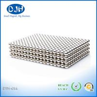 Best NdFeB Materials Custom Neodymium Magnets N35 Bright Silver Diameter 1 - 50 MM wholesale