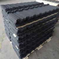 China Modern Nosen / Flat / Roman Stone Coated Roof Tiles for Villas / Townhouses on sale