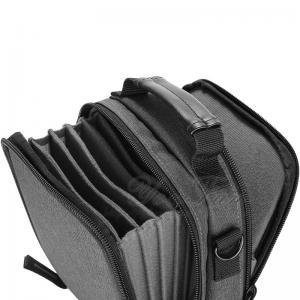 Best Solid Canvas Camera Filter Bag Case , Camera Lens Bag Zipper Top Long Lifespan wholesale