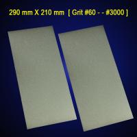 [290 mm X 210 mm A4 paper Foursquare shaped electroplated diamond grinding plate/disc