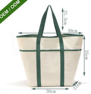 Best 8oz Fashion Custom Print Logo Long Handle Canvas Bag Tote Bag,organic cotton custom printed tote canvas bag bagease pac wholesale
