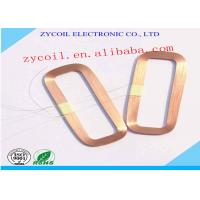 Best Square Air Core Inductor Coil Bobbin , Gold Copper Induction Coil Winding wholesale