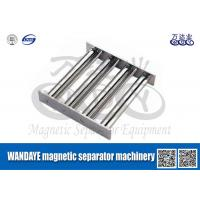Best Powerful Magnetic Separator Machine , Stainless Steel Magnetic Filter / Shelf / Gray wholesale
