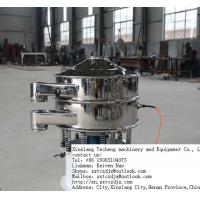 Best SUS 304 Material Food Grade Rotary Vibrating Screen wholesale