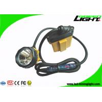 Best Flashing Light Led Mining Lamp Corded Cable Underground Coal Mining Cap Lamps 25000lux wholesale