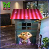 Best DIY Paper Corrugated cardboard houses for kids cardboard box playhouse wholesale