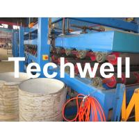 Best Rock Wool Insulated Sandwich Panel Cold Roll Forming Machine 0 - 4.05 m / Min Speed wholesale