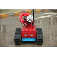 Best Remote Control Automatic Fire Fighting Robot , Automatic Fire Extinguisher Robot wholesale