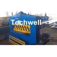 Best CE Approved Cold Roll Forming Machine , Metal Roof Bending Machine With Adjustable Speed wholesale