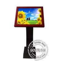 Best Full HD Sensor Touch Screen Kiosk Digital Signage , 19 Inch LCD Advertising Players wholesale