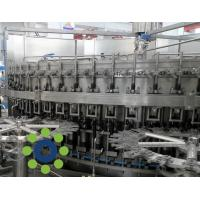 Best 15KW Carbonated Soft Drink PET or Glass Bottle monoblock rinsing filling capping machine wholesale