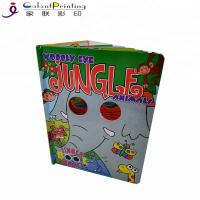 Best A4 A5 A3 Paper Printing Services Kids Board Books Glue / Sewing Binding wholesale