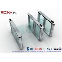 Best Fastlane Swing Barrier Gate Silver Polishing With Dry Contact Interface wholesale