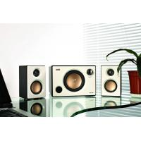 Best White / Black 2.1 Multimedia Speaker System with USB SD Port and FM Remote Control wholesale