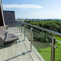 Cheap 2'' Pipe Handrail Balcony / Terrace Stainless Steel Glass Railing Designs for sale