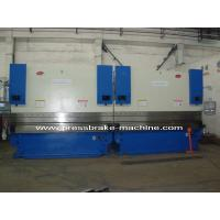 Best CNC Hydraulic Tandem Press Brake , 200 T Sheet Metal Bender 8mm Thickness wholesale