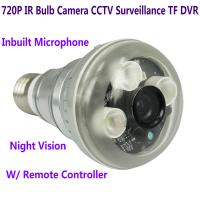Best 720P IR Night Vision LED Array Bulb Camcorder CCTV Surveillance DVR Camera Remote Control wholesale