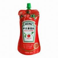Best Standup Pouch with Spout, Suitable for Tomato Ketchup Packaging wholesale