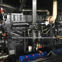 Cheap Diesel Driven Screw Air Compressor Easy Serviceability For Water Well Drilling for sale