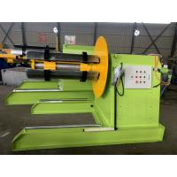 Best 380v 50hz Hydraulic Decoiler Machine For Steel Plate Low Noise Easy Operation wholesale